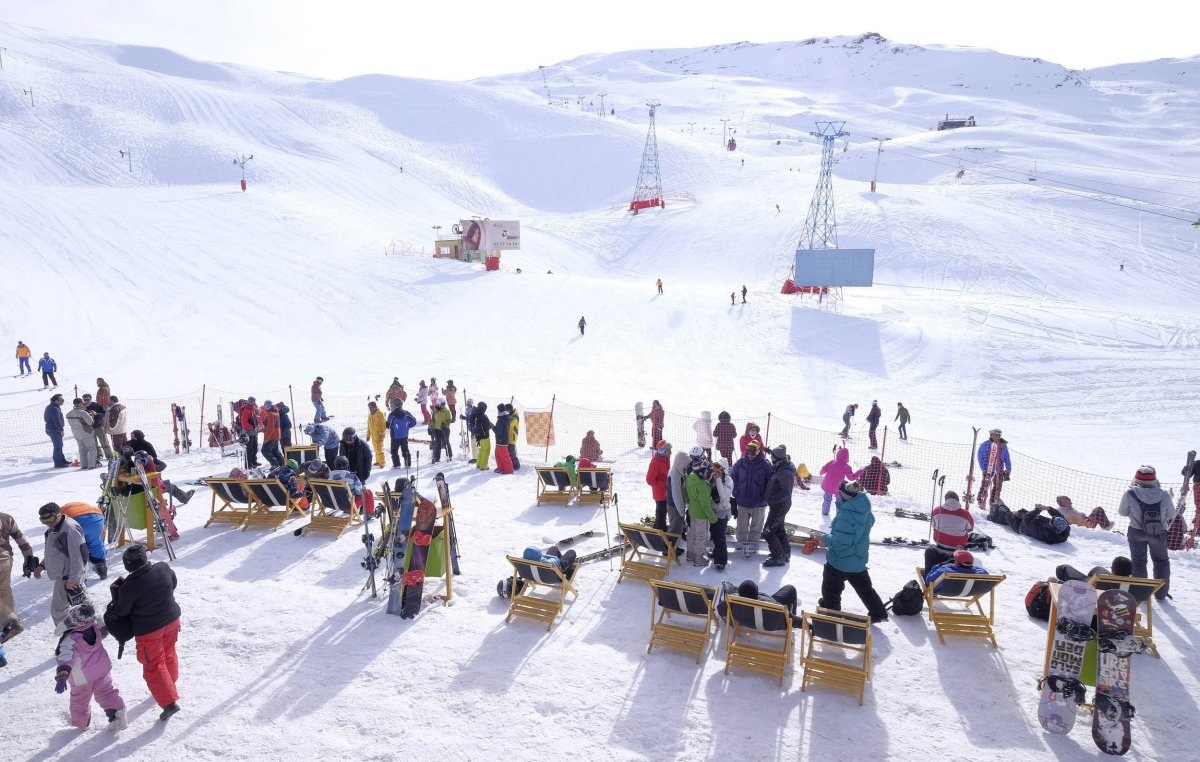 Dizin Ski resorts in tehran