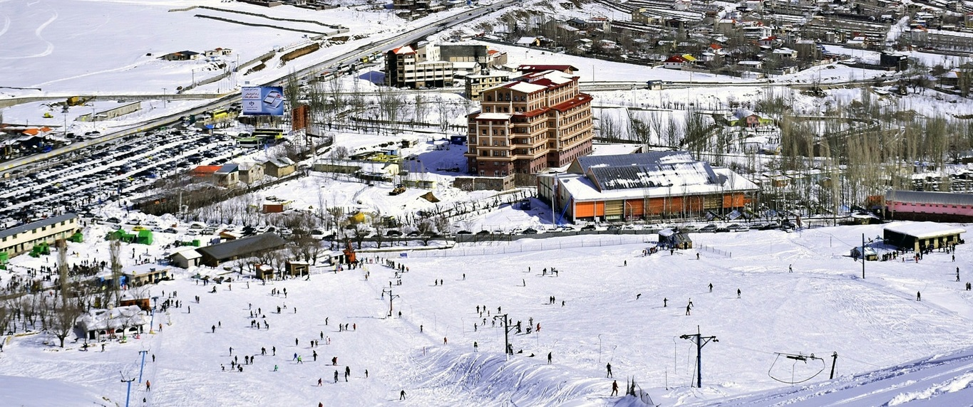 AbAli Ski resorts in tehran