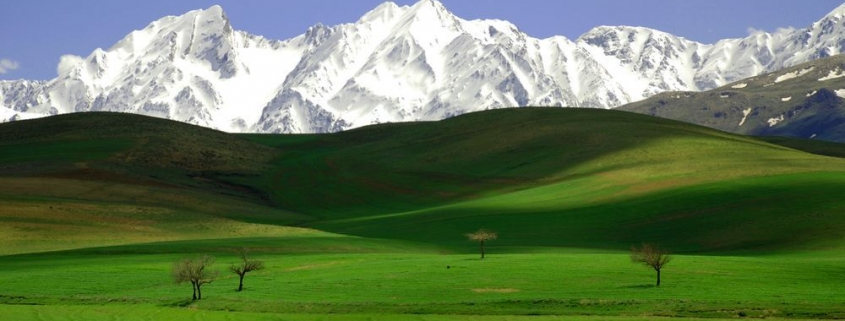 natural attractions in Iran
