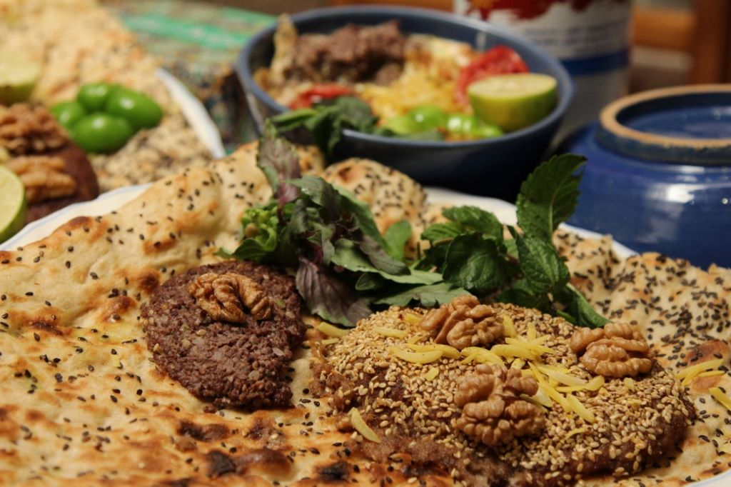 The most popular local cuisine of Iran